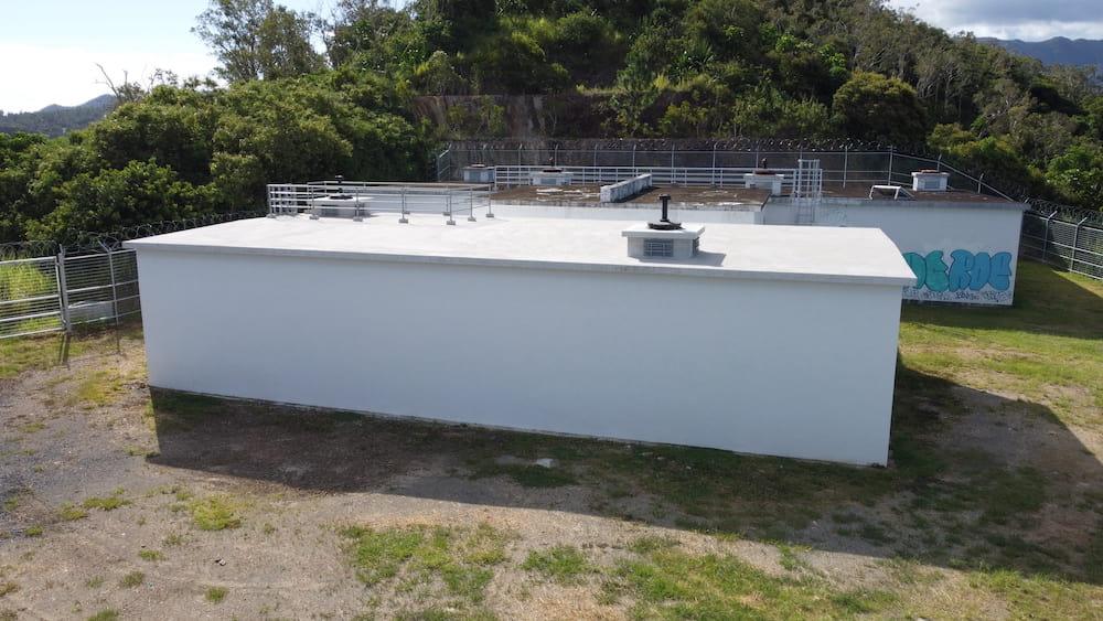 Photo du réservoir d'eau potable Dumbéa